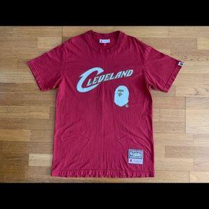 Bape x Mitchell & Ness Cleveland Cavaliers T-Shirt